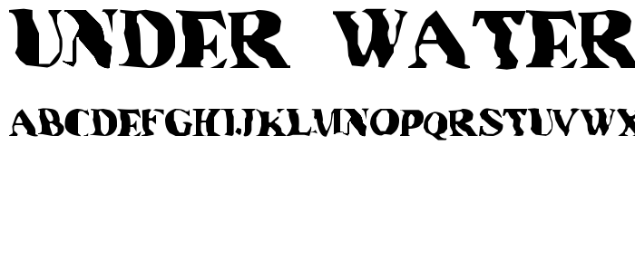Font That Looks Like Water 68