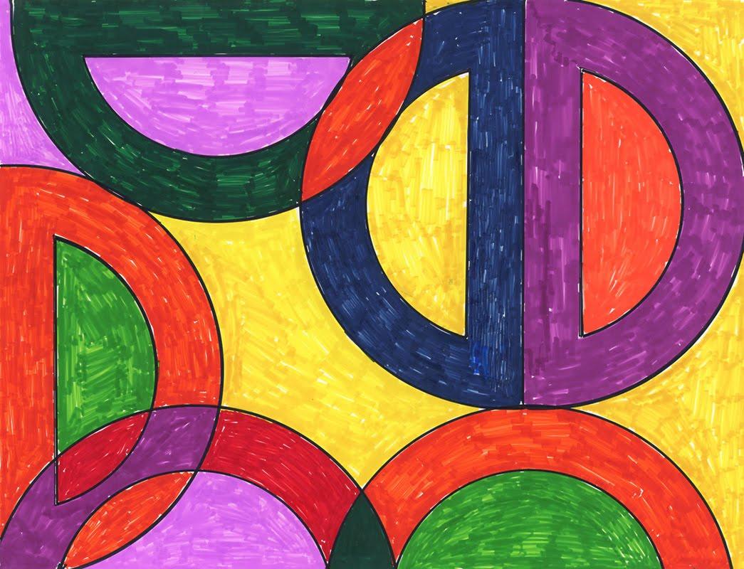 Frank Stella Abstract Art