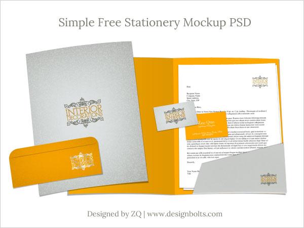 Free Business Card Mockup Template PSD