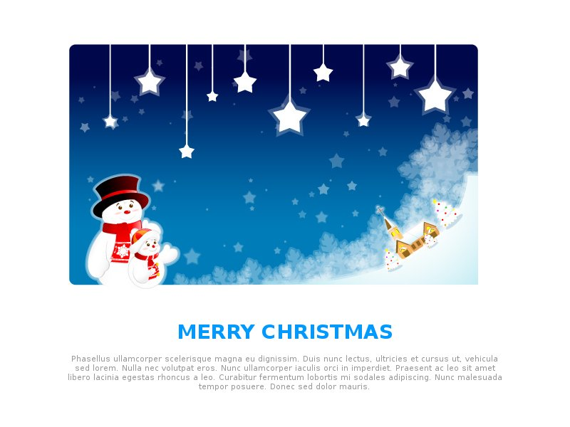 Holiday Email Template Free