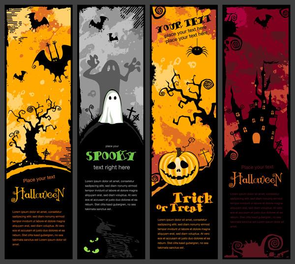 Free Halloween Banner Clip Art