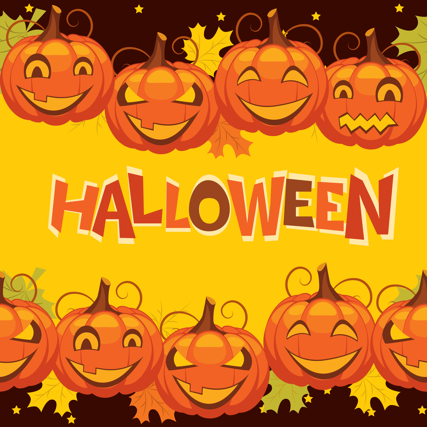 13 Halloween Vector Graphics Images
