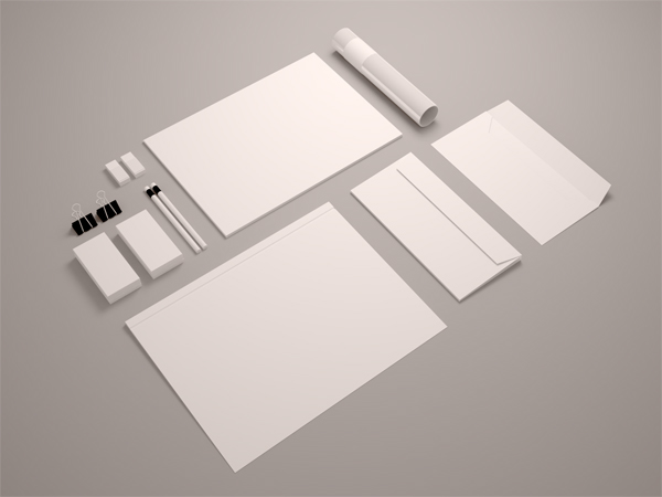 13 Stationary Mockup Psd Free Images