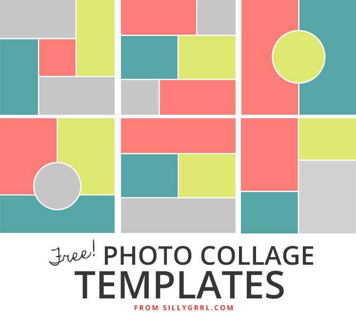 17 Photoshop Elements Collage Templates Images