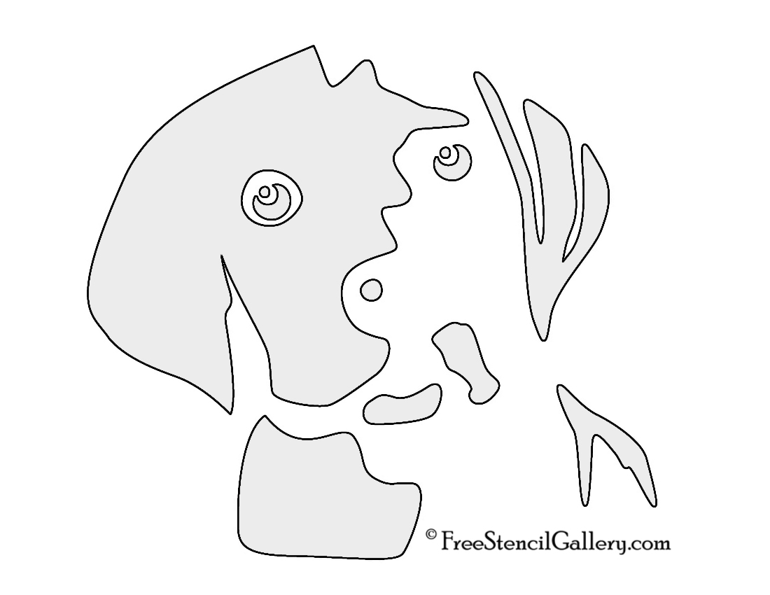Dog stencils designs images free printable