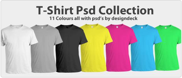 Free T-Shirt Template PSD