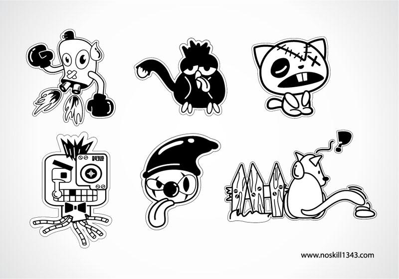 15 Free Cartoon Vector Art Images