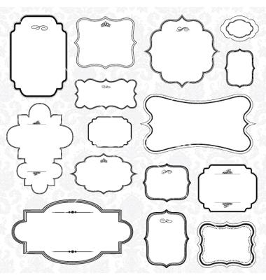 16 Label Vector Frames Free Download Images - Vector Labels Free ...
