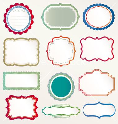 Colorful Free Download Vector Frame Frieze - Frames Ideas - ellisras ...