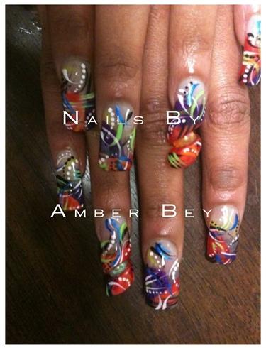 Ghetto Fabulous Nail Designs