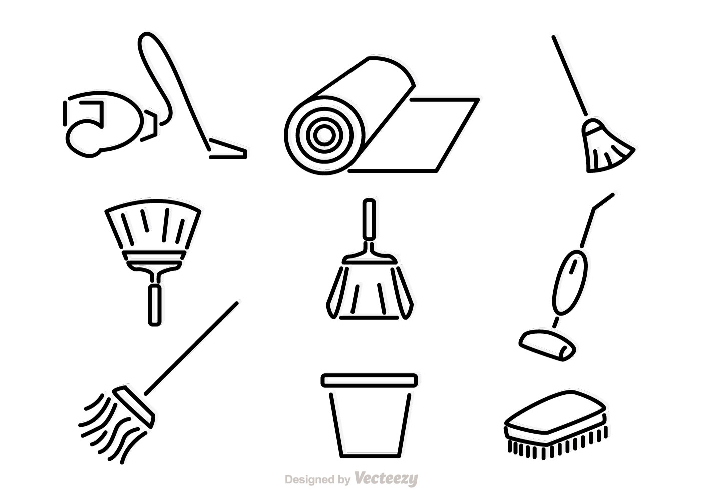 House Cleaning Vector Art Free