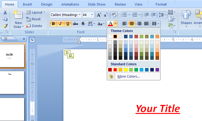 How to Change Text Color On Microsoft Word