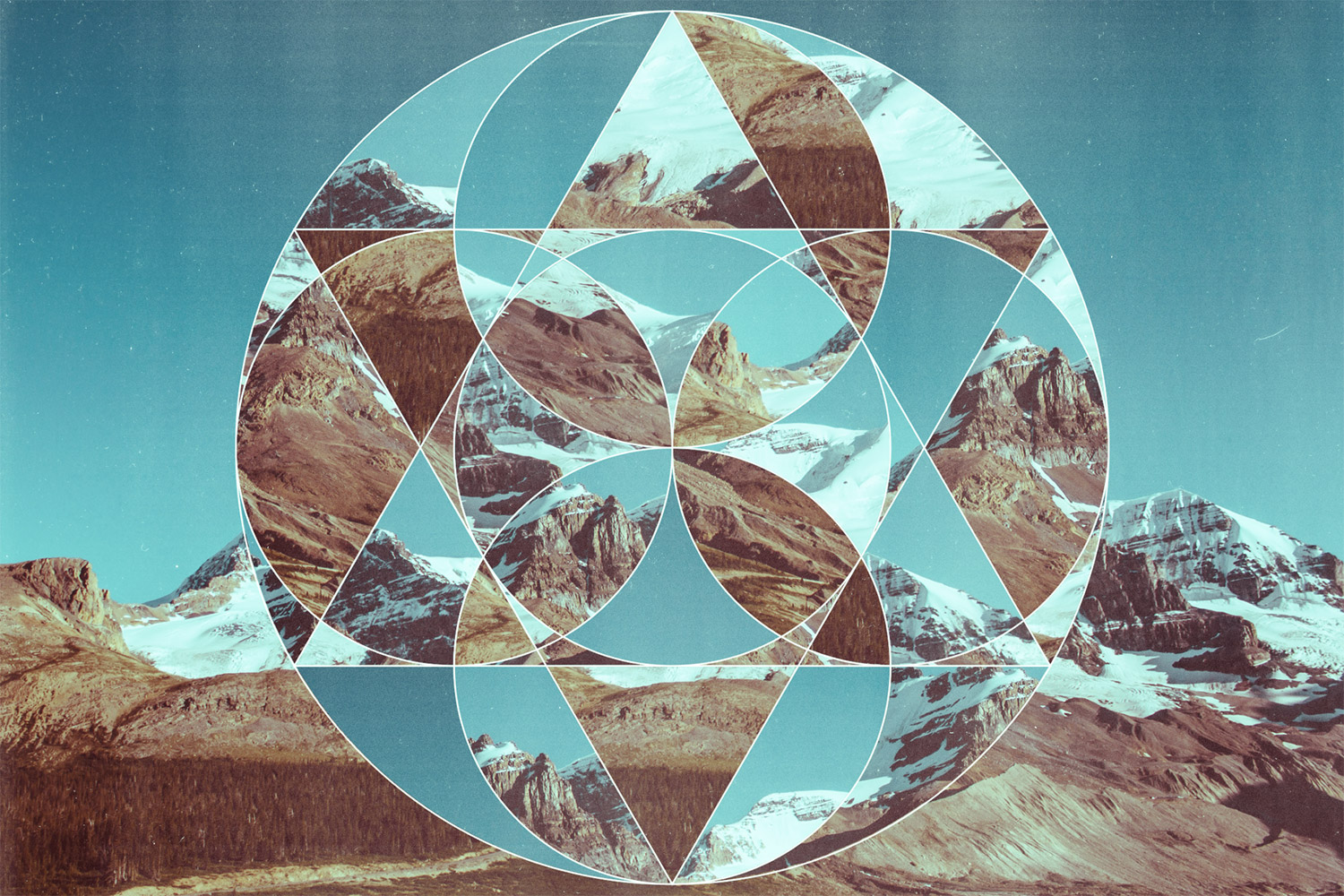 How to Create Photo Collage Geometric Abstract Art