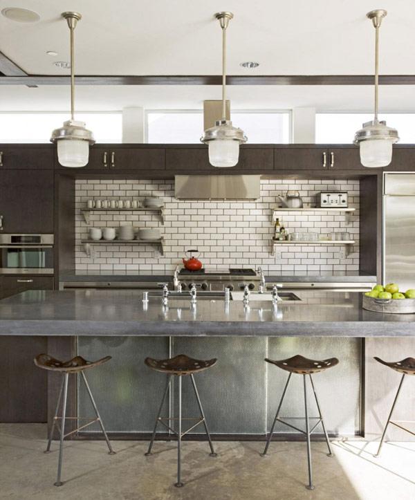 Industrial-Style Kitchen Design