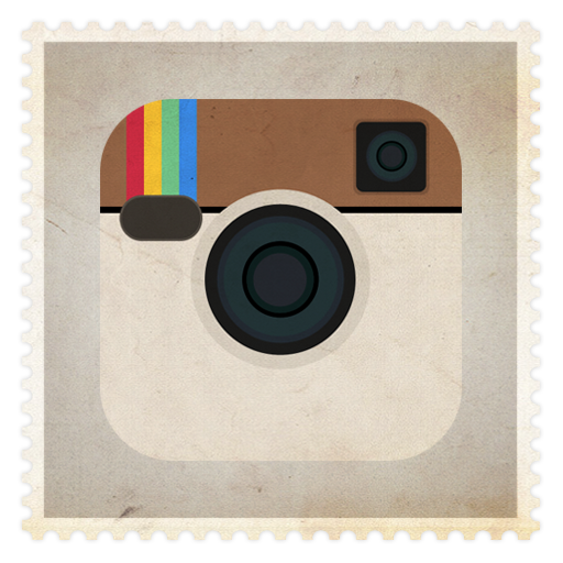 12 Instagram Icon Blue Square Images