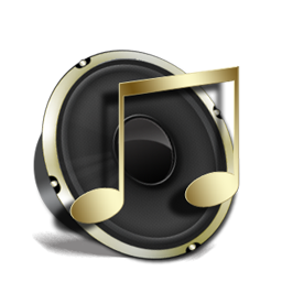 iTunes Icons Black and Gold