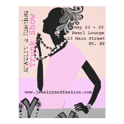 Jewelry Fashion Show Flyer