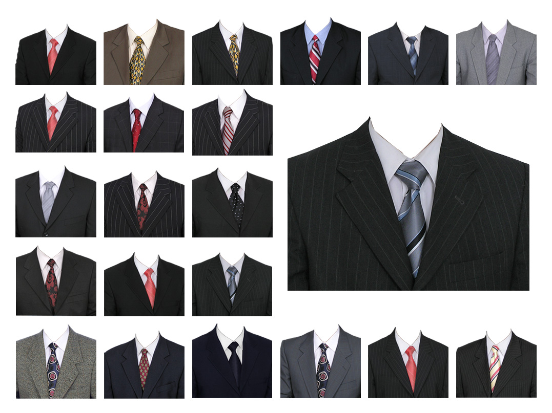 Men Suit Templates