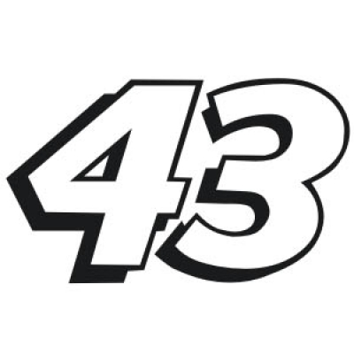10 NASCAR Number Font Lists Images - NASCAR Car Number 42 ...
