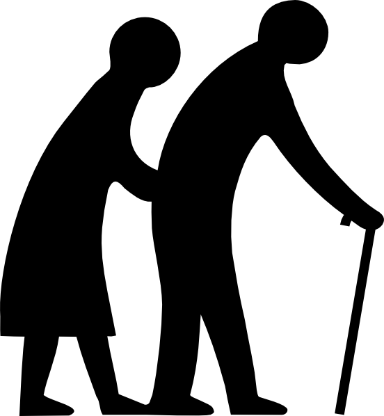 11 Old People Icon Clip Art Images