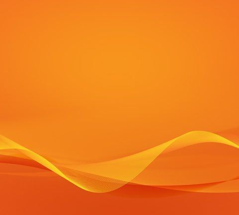 Orange Waves
