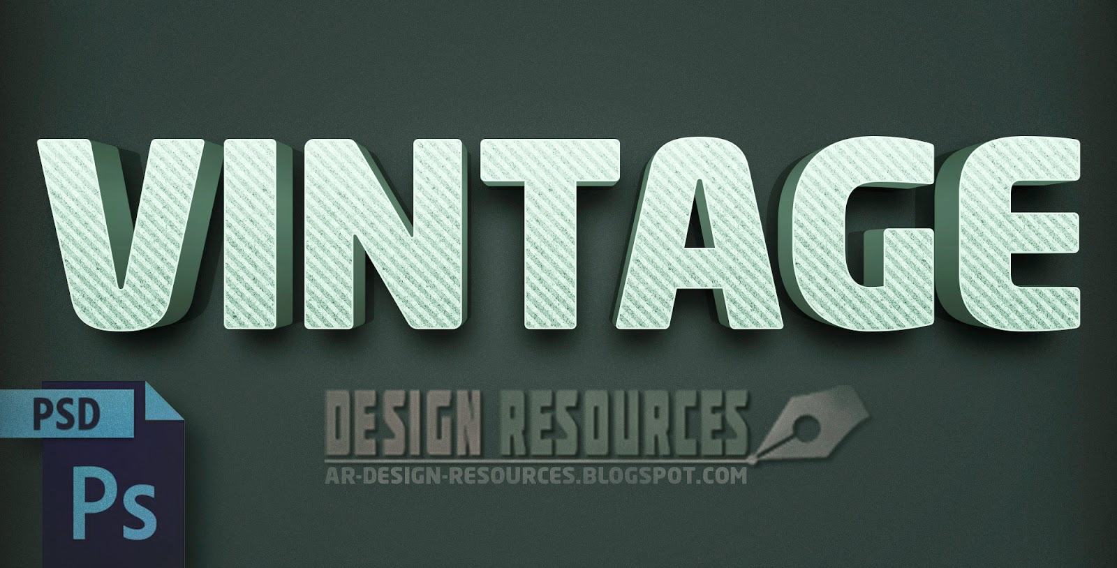 how to add text effects in photoshop