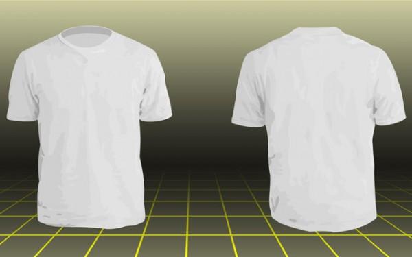 Photoshop T-Shirt Templates Front Back