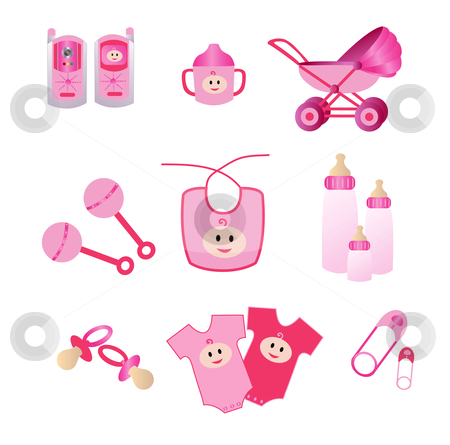 9 Pink Girl Icon Images