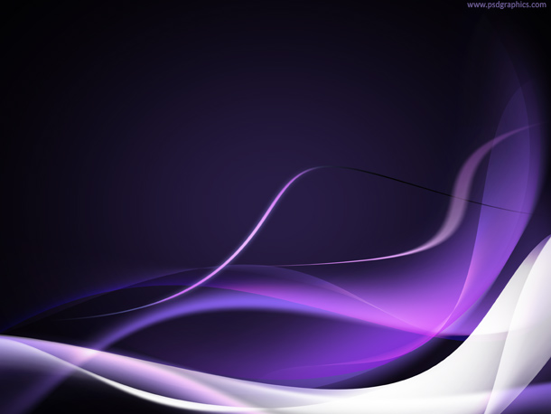 Purple and White Waves