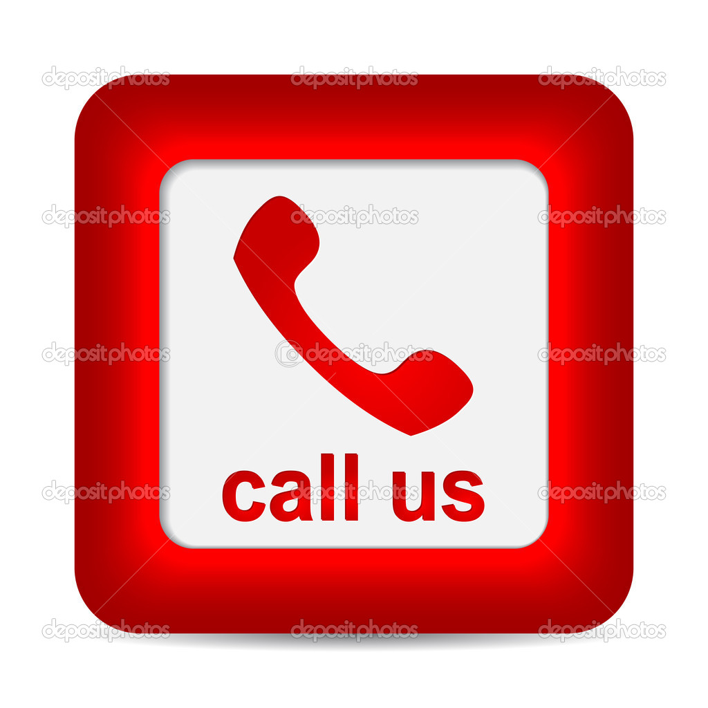 Red Phone Call Icon