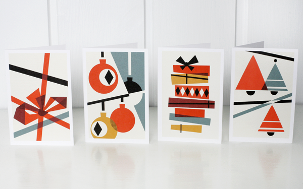 Scandinavian Christmas Card Design