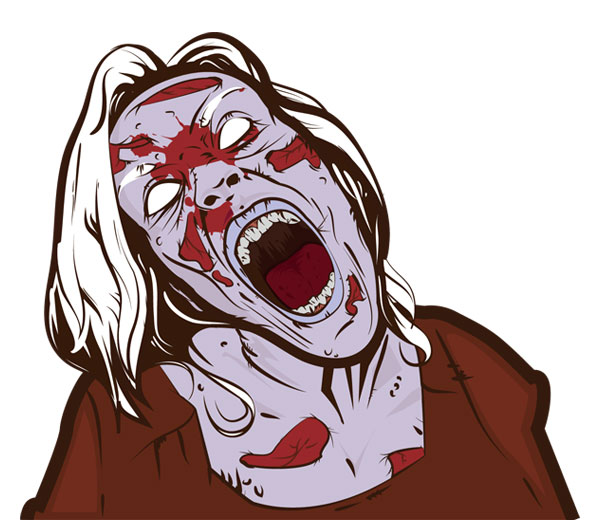 free zombie clipart images - photo #47