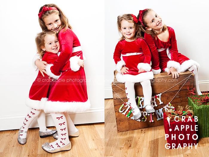 Sibling Christmas Photography