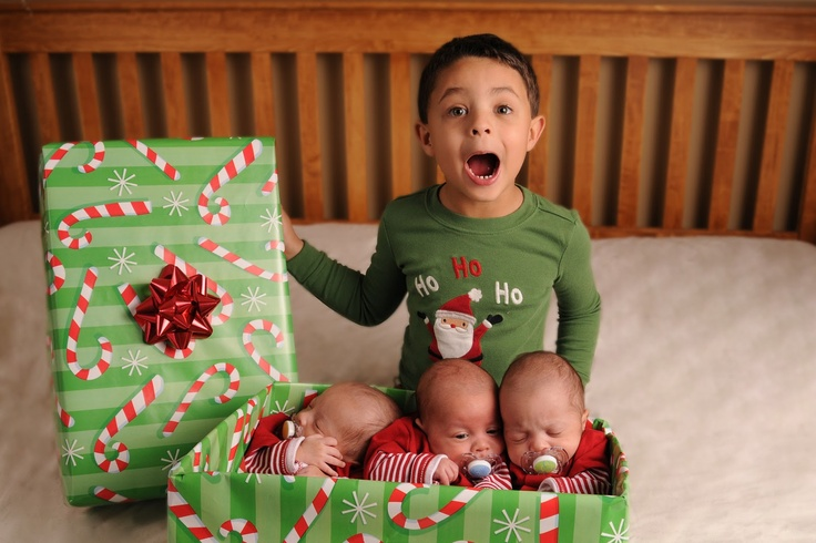 Siblings Christmas Card Idea