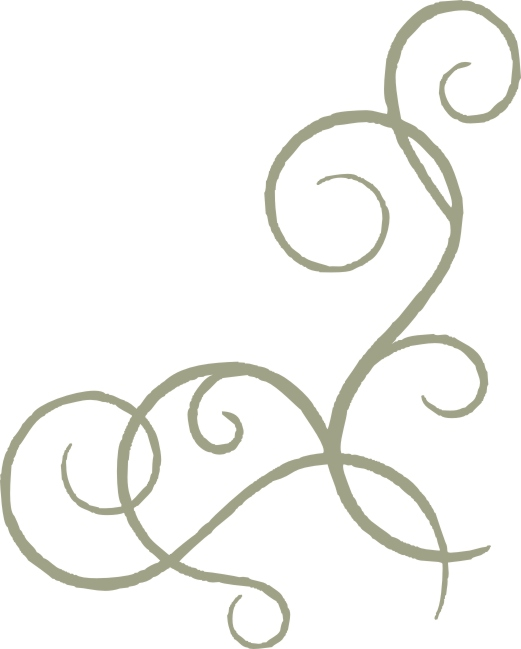 Simple Corner Swirl Designs