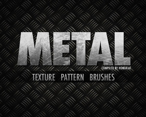 12 Metallic PSD Brushes Images
