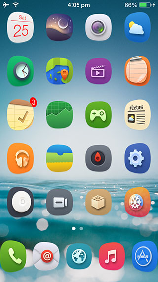 Tweak 8 Folders iOS Icon Transparent