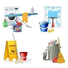 Vector Cleaning Supplies