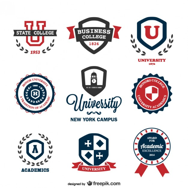 13 College Logo Free Vector Downloads Images