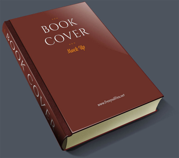 Vintage Book Cover Psd