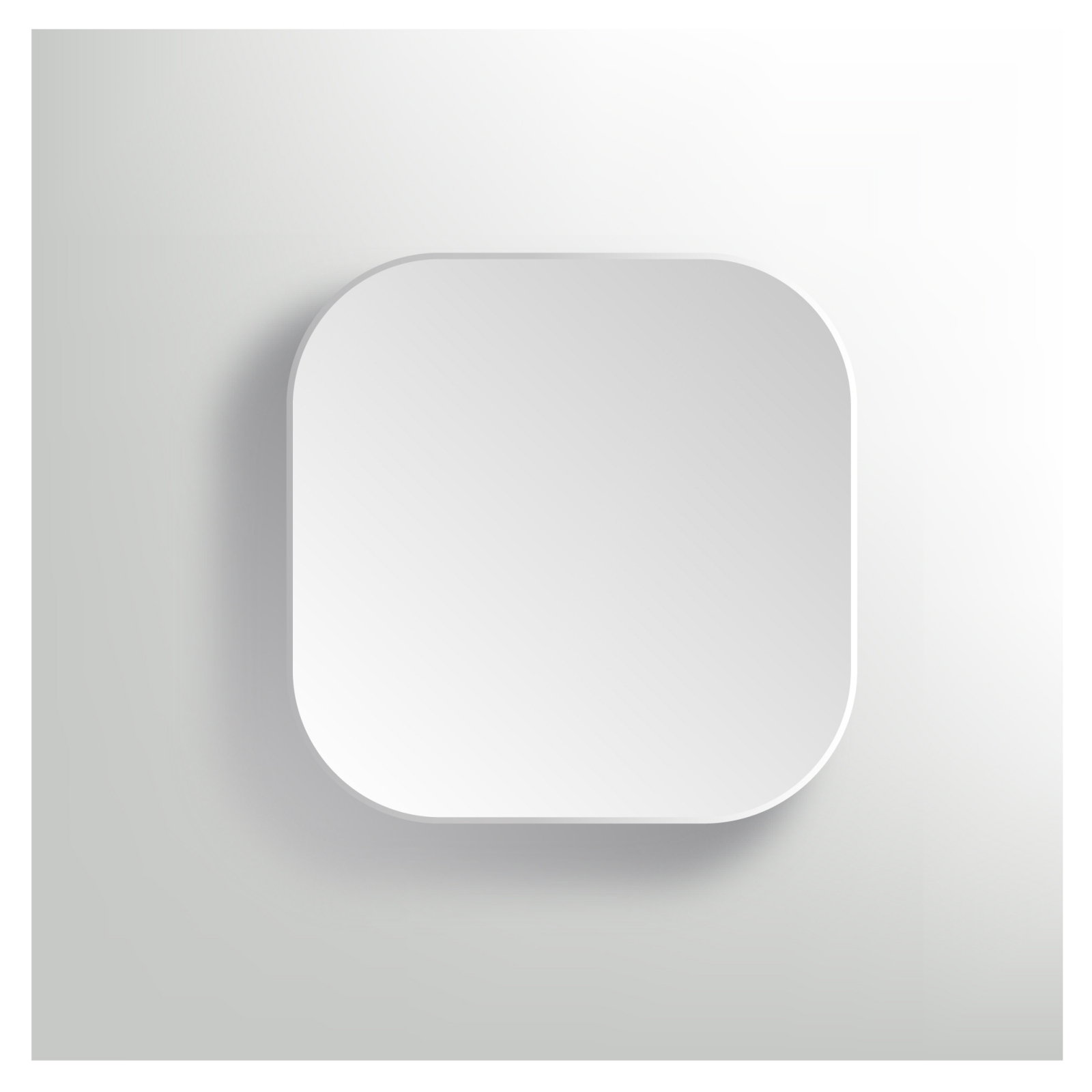 White App Icon Template Free