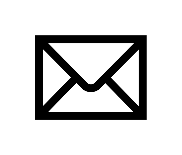 10 Black And White Mail Icon Images
