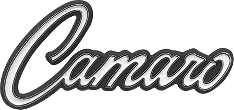 1968 Camaro Emblems
