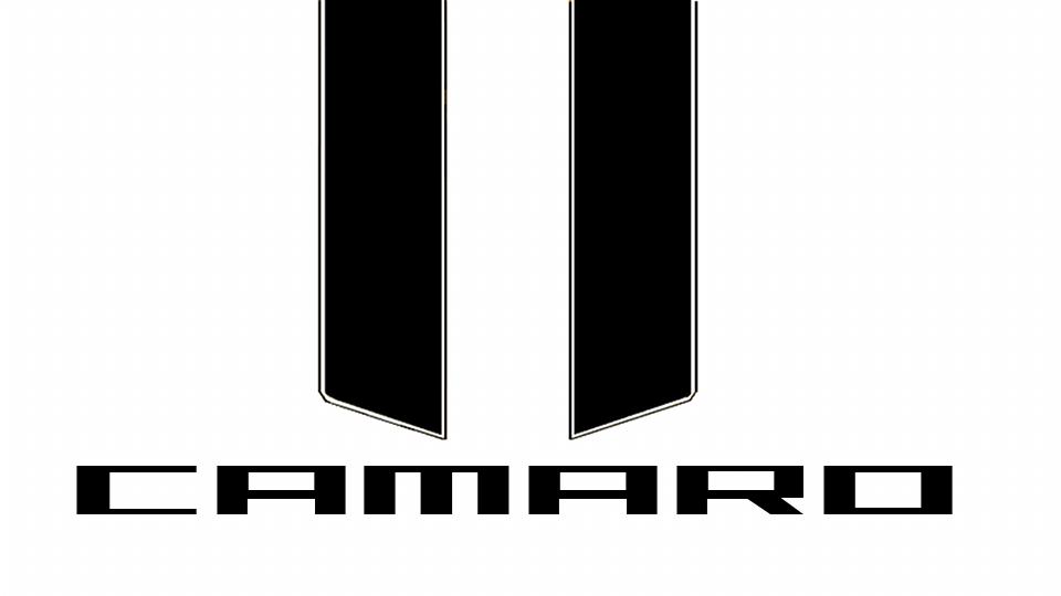 12 camaro ss logo vector images