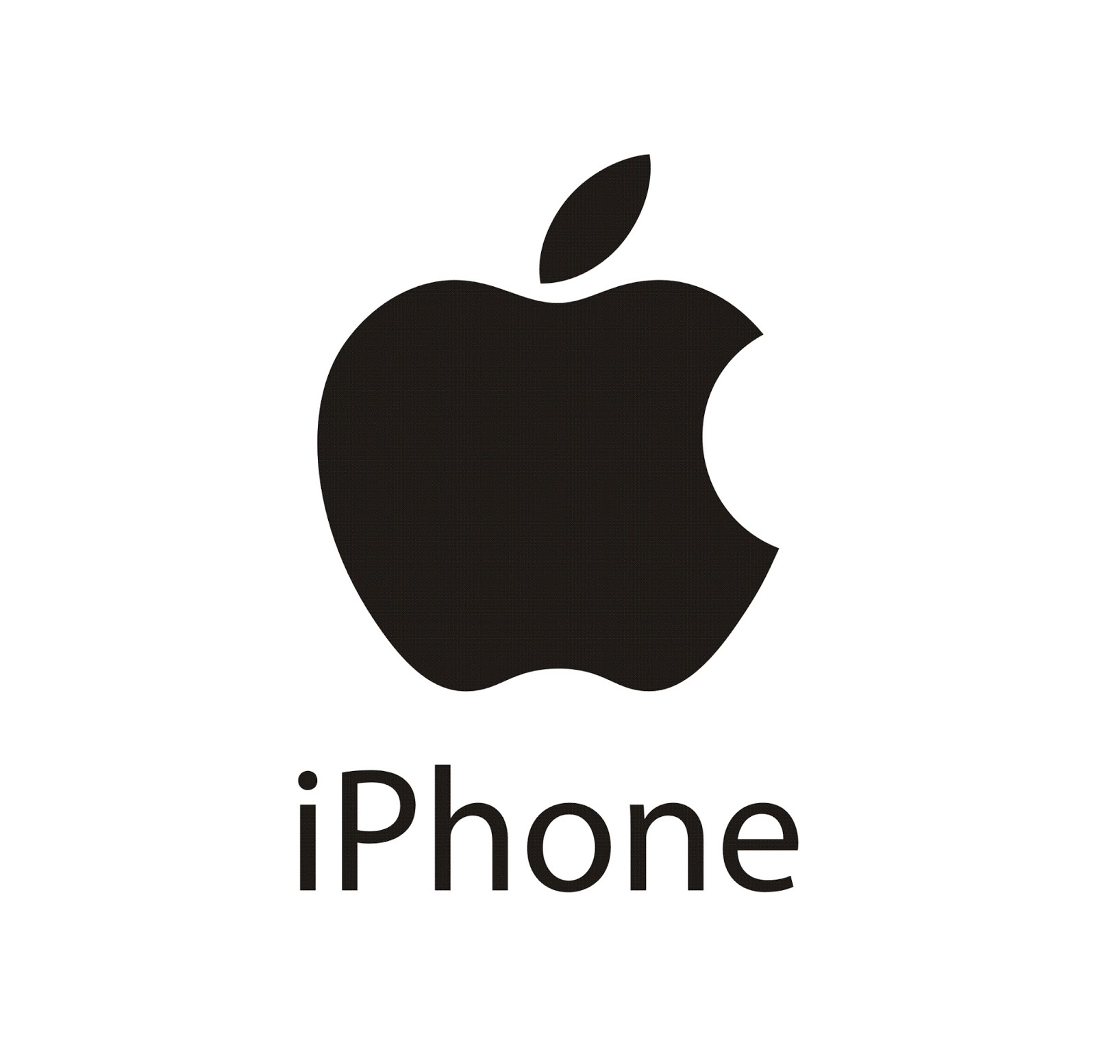 Apple iPhone Logo Vector