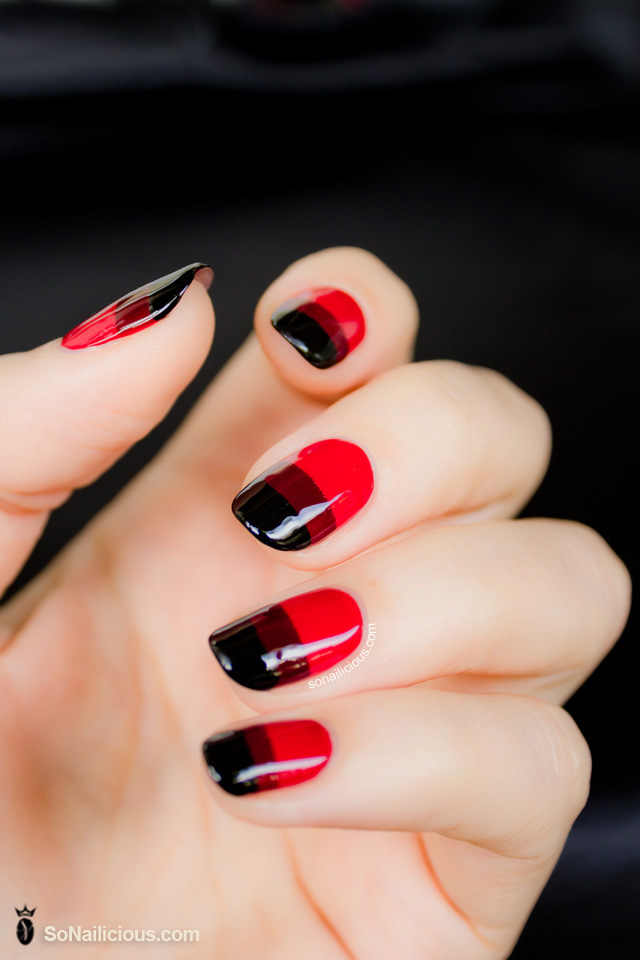 Art with Red Nail Polish