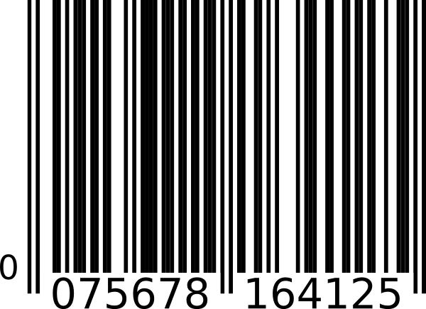 5 Bar Code Vector Images