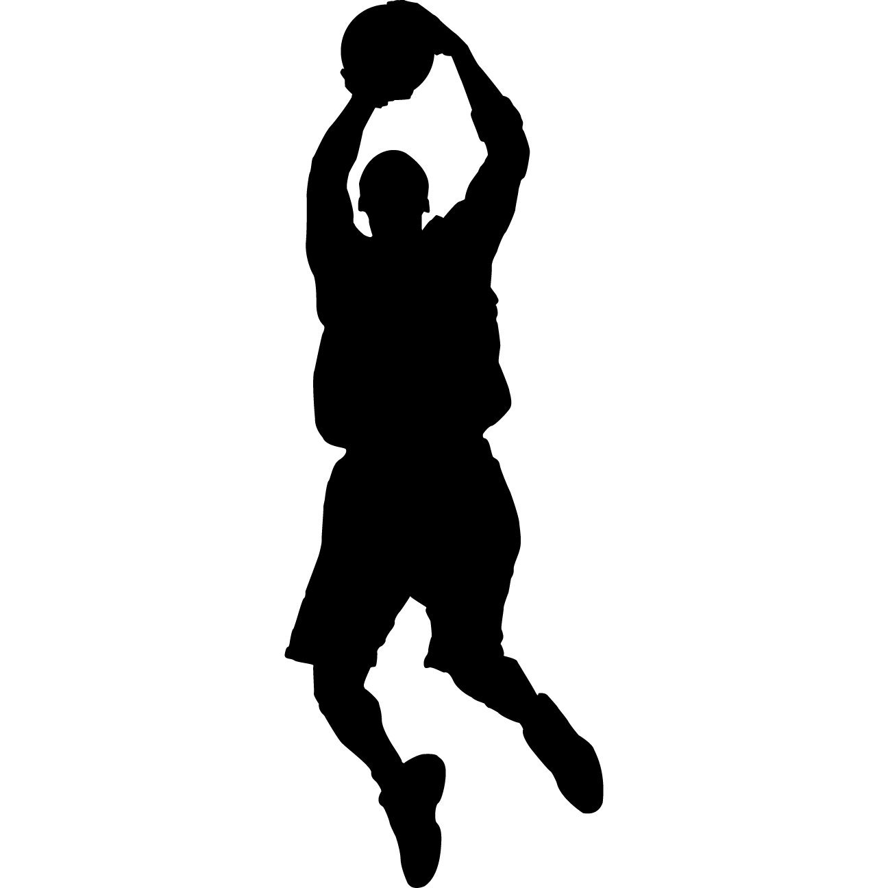 12 Basketball Silhouette Vector Images