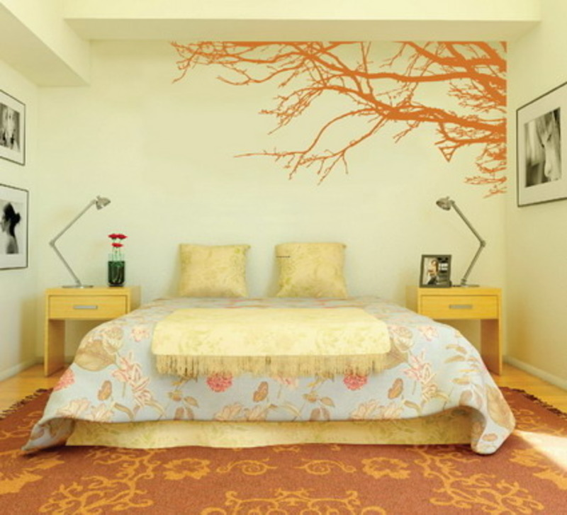 bedroom wall paint design ideasdigihome wall paint design ideas interior wall painting designs: bedroom painting designs