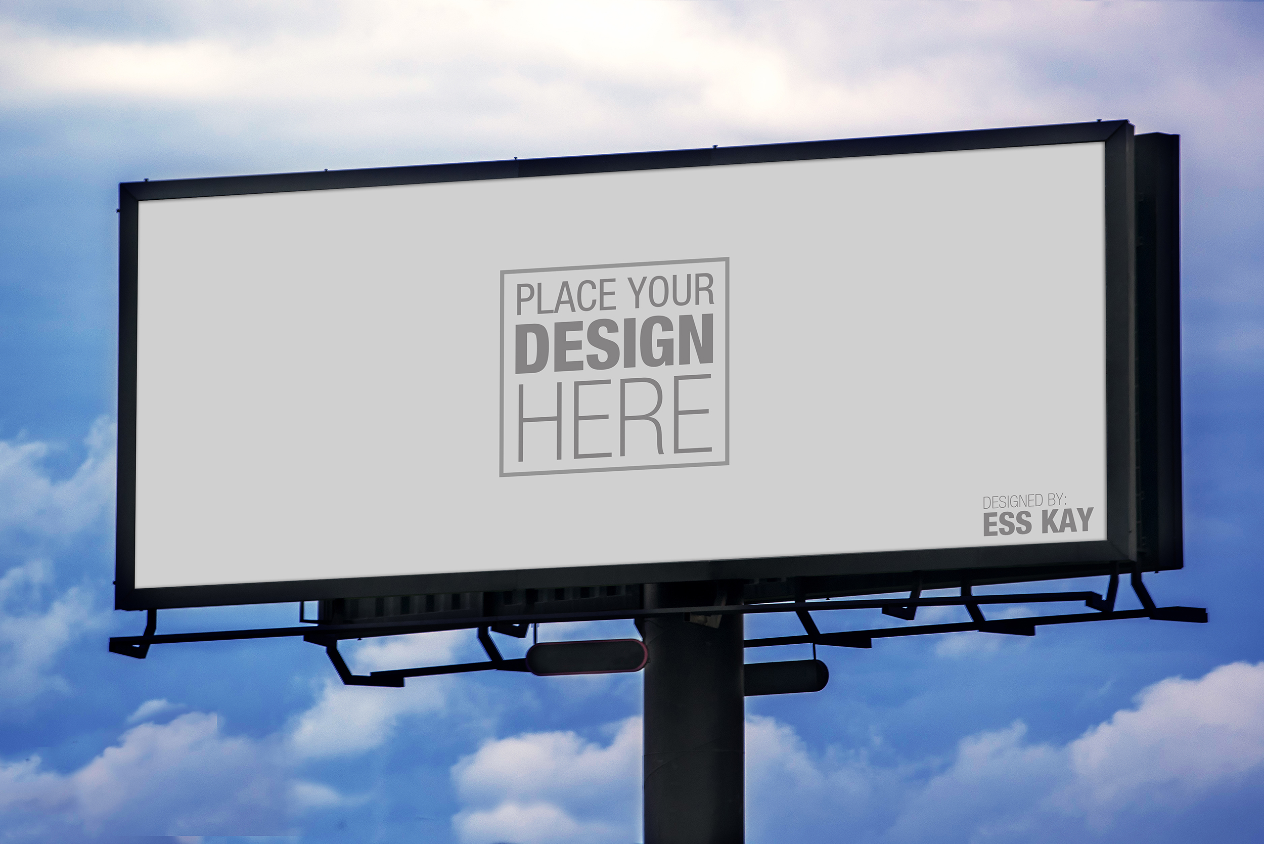 billboard mockup template images galleries with a bite. Black Bedroom Furniture Sets. Home Design Ideas